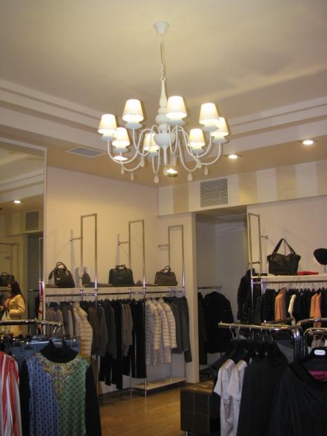 Магазин модной одежды Bottega